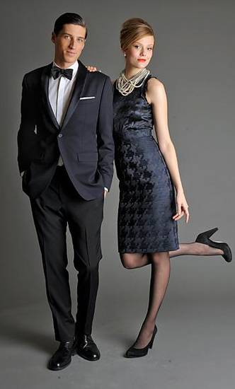 "A ""Mad Men""-inspired collection for men and women will be in Banana Republic stores on Aug. 11."