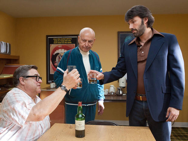 "From left, John Goodman, Alan Arkin and Ben Affleck appear in a scene from ""Argo."" Warner Bros. Pictures photo <strong>Claire Folger</strong>"