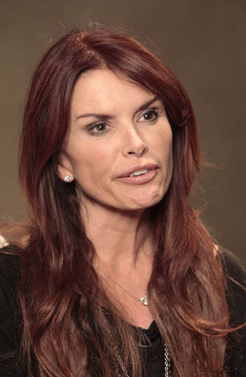 "Roma Downey talks about  her new TV series on the History Channel called ""The Bible"" during a visit to LIfeChurch.tv.  Photo By David McDaniel, The Oklahoman <strong>David McDaniel - The Oklahoman</strong>"