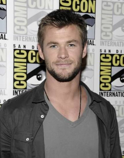 Chris Hemsworth at Comic-Con International (AP)