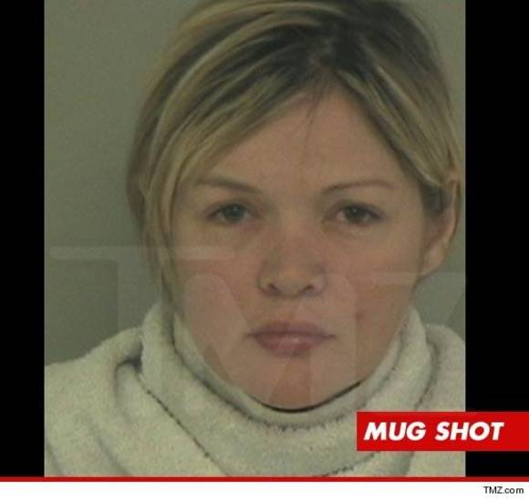 Rhonda Aikman's mug shot, provided by TMZ.