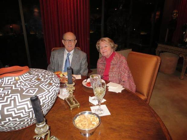 David and Dolly Flesher enjoy the event. (Photo by Helen Ford Wallace).