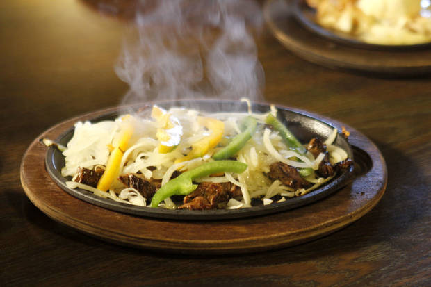 Fajitas are a specialty of the house at Chelino's, which has 13 locations in Oklahoma City.  Photo by Paul Hellstern, The Oklahoman <strong>PAUL HELLSTERN - Oklahoman</strong>