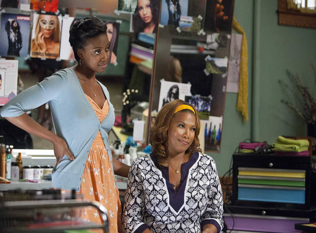 "Condola Rashad and Queen Latifah star in ""Steel Magnolias."" - Lifetime Photo"