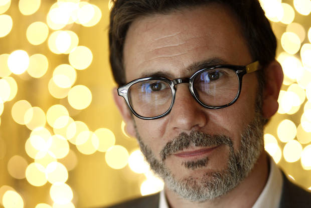 Writer and director Michel Hazanavicius poses for portrait at the Academy Awards Nominees Luncheon in Beverly Hills, Calif., Monday, Feb. 6, 2012.  The 84th Academy Awards will be held Feb. 26, 2012.  (AP Photo/Matt Sayles) ITALY OUT ORG XMIT: CAMW107
