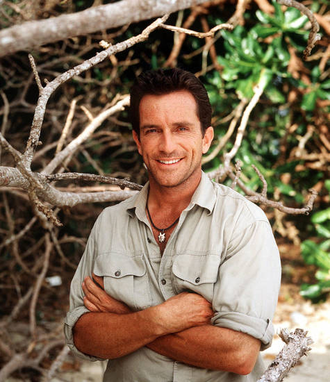 "Jeff Probst, host of CBS's ""Survivor"""