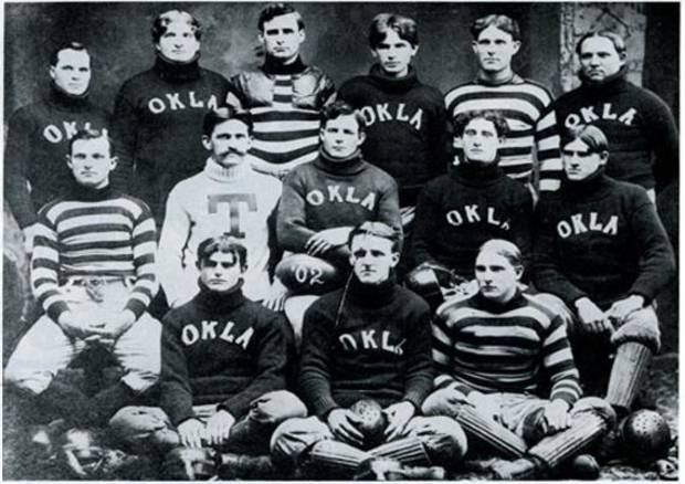 It's the 1902 team but you get the idea. Wikicommons