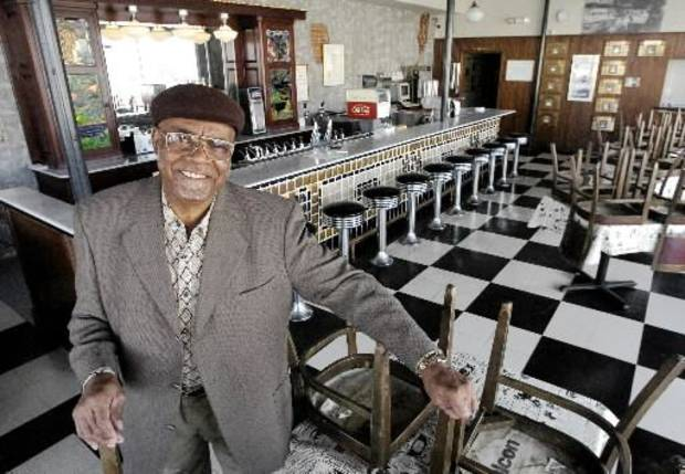 Roy J. Harris was a longtime greeter atThe Grateful Bean at the Kaiser's Ice Cream Building. Harris, who was a retired civil service worker from Tinker Air Force Base, died in 2005.