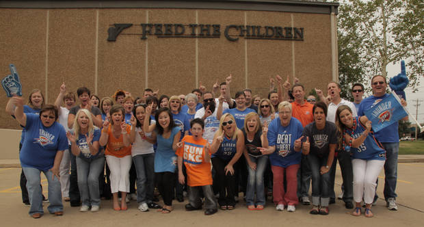 Feed The Children Thundering Up!