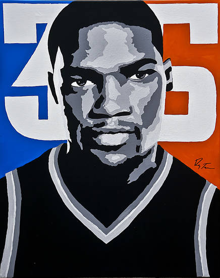 Kevin Durant�s fearlessness in taking last-second shots is known throughout the league. In a poll of general managers, 46.7 percent said they would want Durant taking the last shot with a game on the line.Art by Ray Tennyson/photo by chris landsberger
