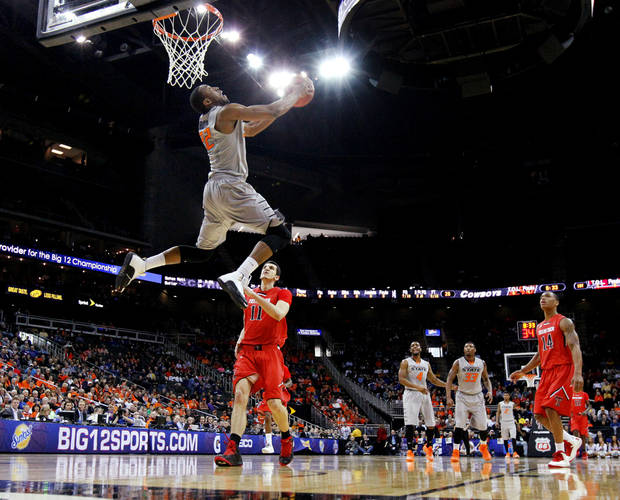 A Markel Brown (pictured) vs. Desmond Mason dunk contest is in the works. Photo by Bryan Terry, The Oklahoman