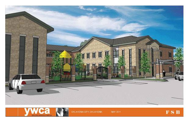 The YWCA�s proposed emergency shelter, pictured in an architectural drawing here, received a $1.5 million grant from the Inasmuch Foundation.  Drawing PROVIDED