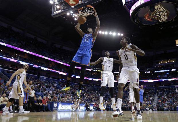 Five observations from the Thunder' 109-95 win over New Orleans