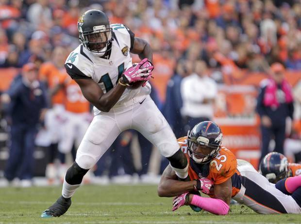 In just two games this season, former Oklahoma State receiver Justin Blackmon has emerged as one of the most dangerous receivers in the NFL.