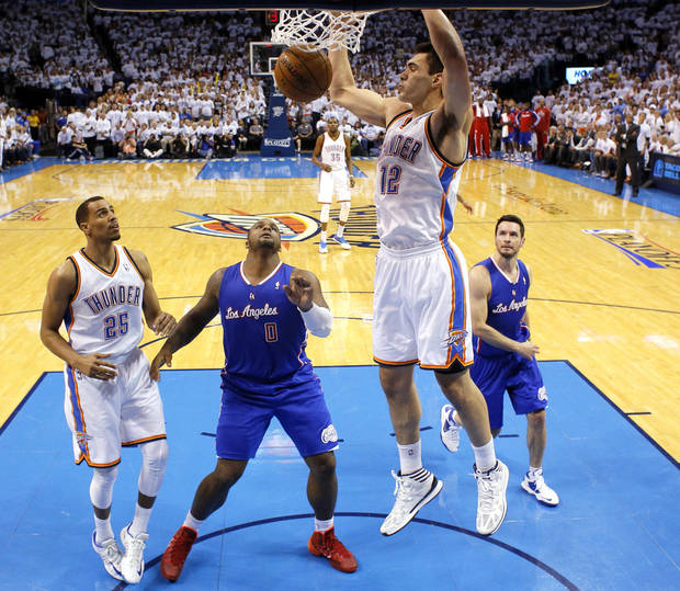 Does Steven Adams have Hall-of-Fame potential? Photo by Sarah Phipps, The Oklahoman