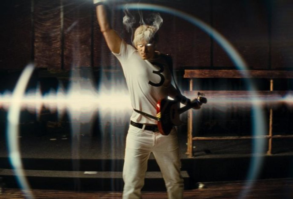 "Brandon Routh in ""Scott Pilgrim vs. the World"""