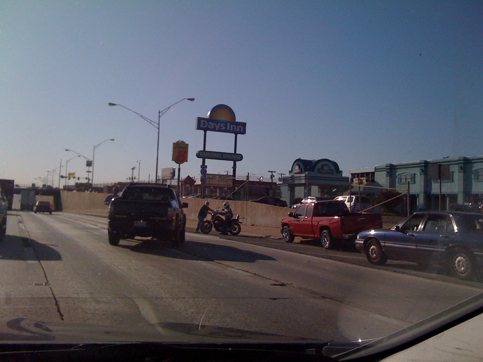 Photo - Motorcycle accident ends with no injuries on I-44 around 5:20 PM