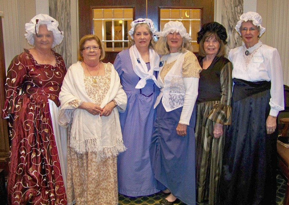 Photo - Laquetha Young, Carolyn Rawlings, Libby Hays, Diane Carkhuff, Dotty Crabtree, Glenda Golden. PHOTO PROVIDED