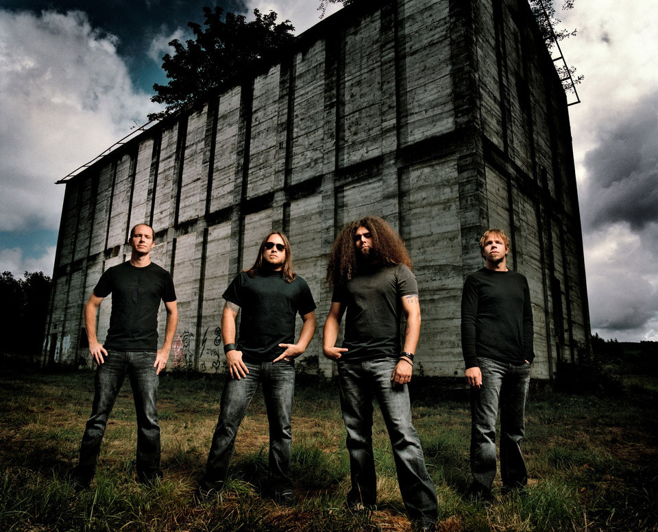 Progressive rock band Coheed and Cambria   ORG XMIT: 1004291553310335
