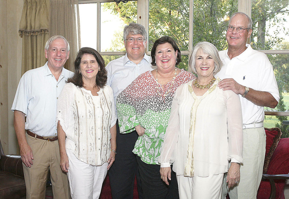 Photo - Bill and Mary Price, Robert and Sody Clements, Jeary and Mike Seikel.