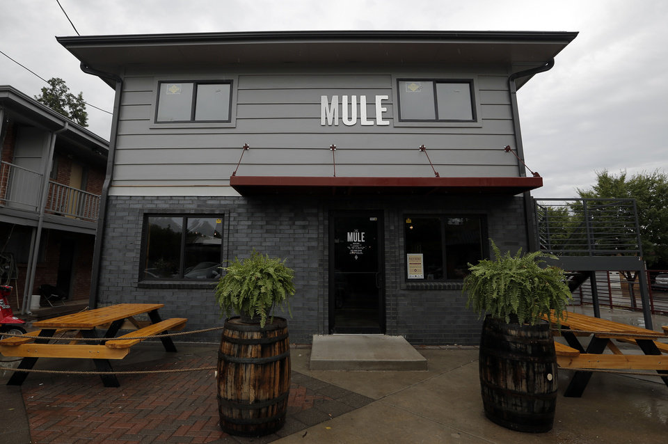 The Mule in the Plaza District of Oklahoma City, Thursday, Sept. 27, 2012.  Photo by Garett Fisbeck, The Oklahoman <strong>Garett Fisbeck - THE OKLAHOMAN</strong>