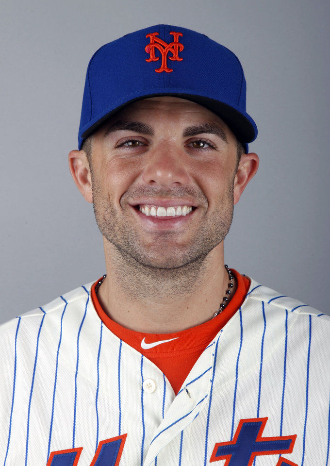 Photo - FILE - This is a 2012 file photo of David Wright of the New York Mets baseball team. WFAN radio is reporting Friday, Nov. 30, 2012, that Wright and the New York Mets have agreed to a $138 million, eight-year contract that would be the richest in franchise history. (AP Photo/Jeff Roberson, File)