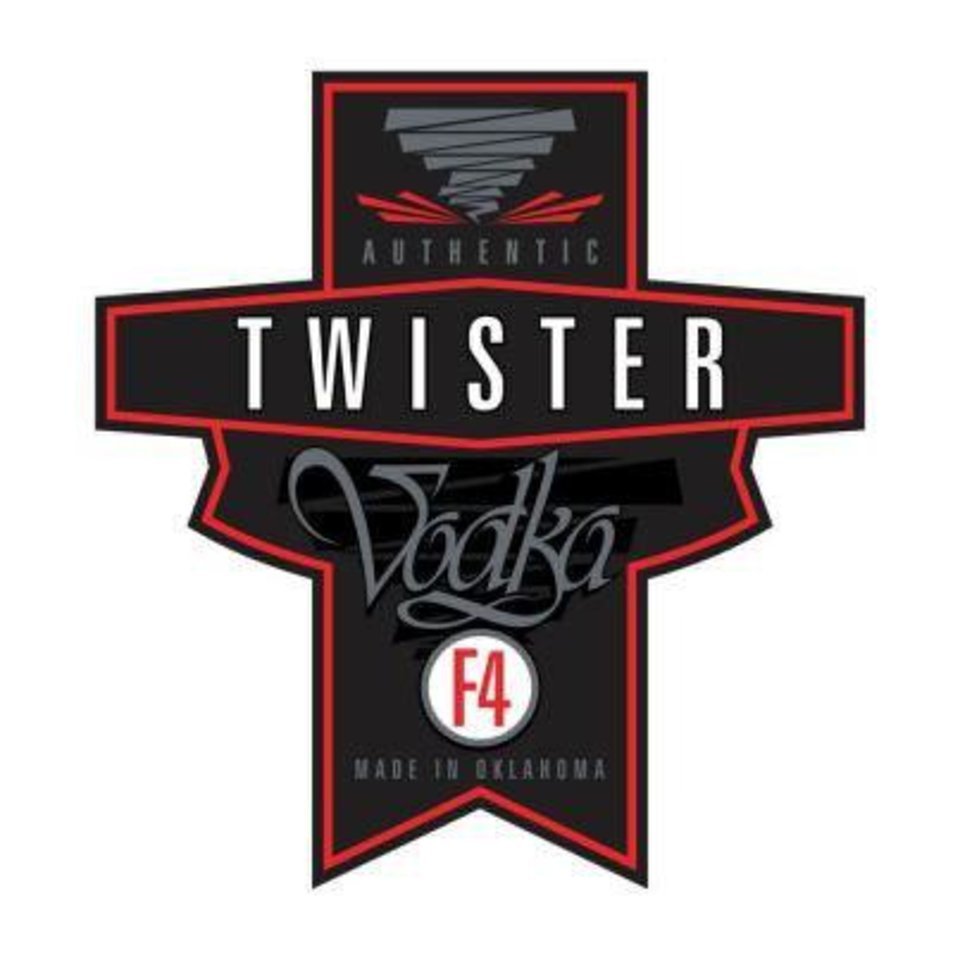 Photo - Label for Twister Vodka, which is waiting for final approval before beginning production in Moore. Provided