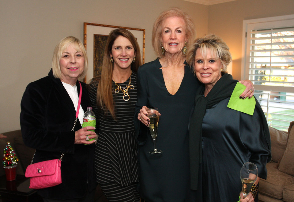 Linda Spaeth, Amy Spring, Janie Comstock, Toby Walker. Photo by David Faytinger for the Oklahoman__