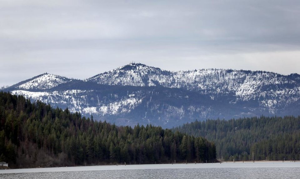 Photo -  Coeur d'Alene lake in Idaho. Photo by Sarah Phipps, The Oklahoman