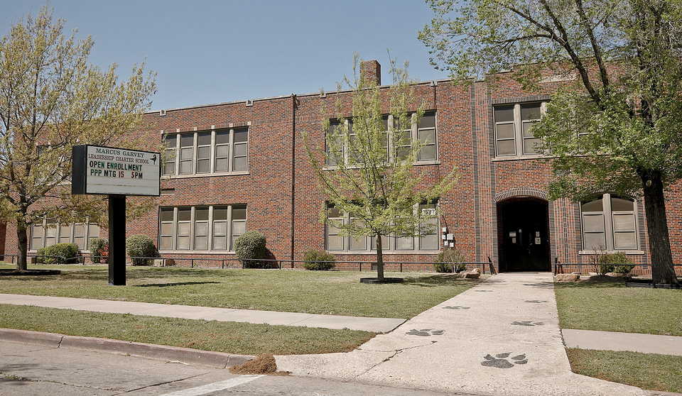 Photo - Marcus Garvey Leadership Charter School, shown on Monday, has been put on notice by Oklahoma City Public Schools that it could lose its charter. Photo by Chris Landsberger, The Oklahoman