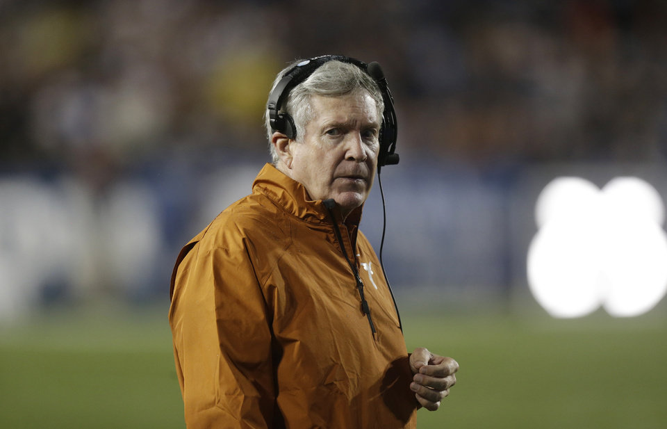 UT hosts K-State this weekend in Austin. (AP Photo/Rick Bowmer)