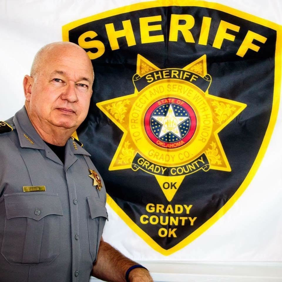 Photo - Sheriff Jim Weir of Grady County.