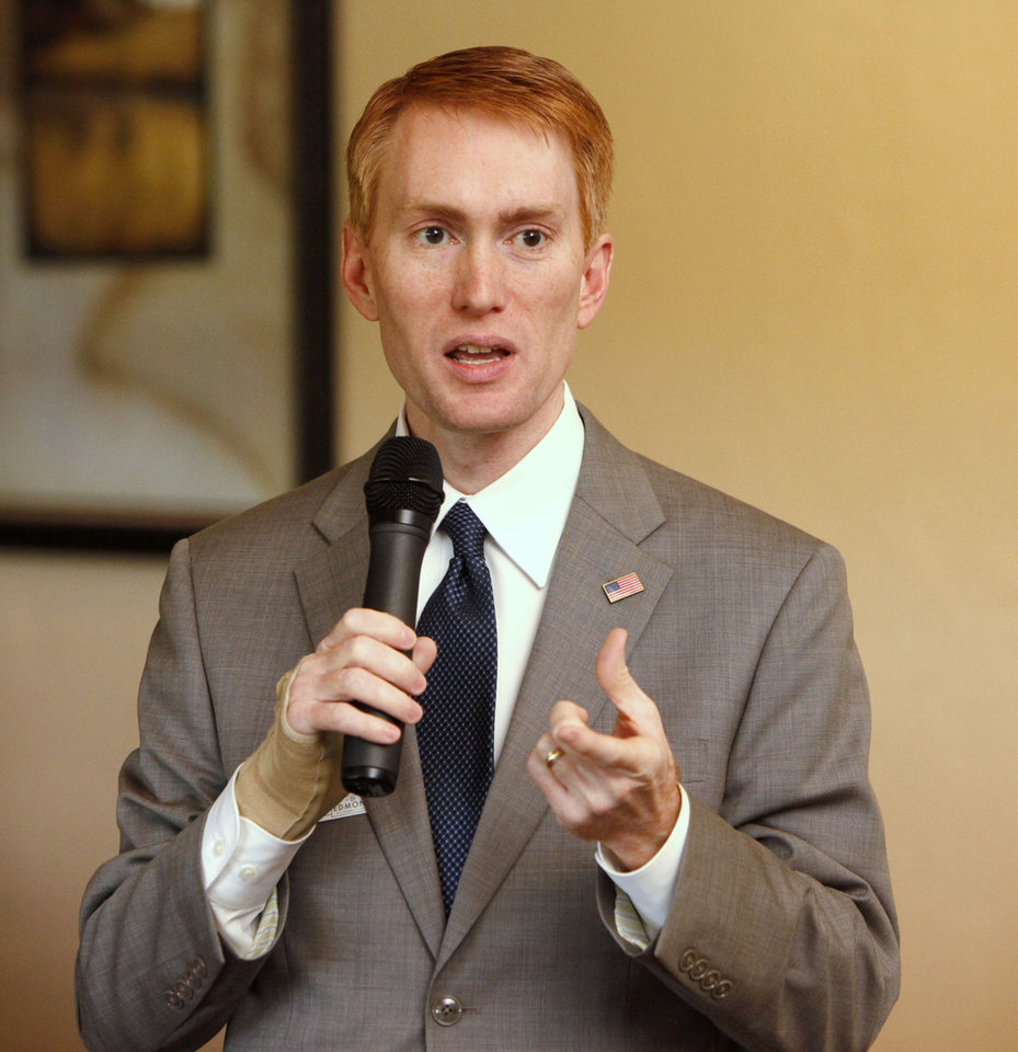 U.S. Rep. James Lankford <strong>PAUL HELLSTERN</strong>