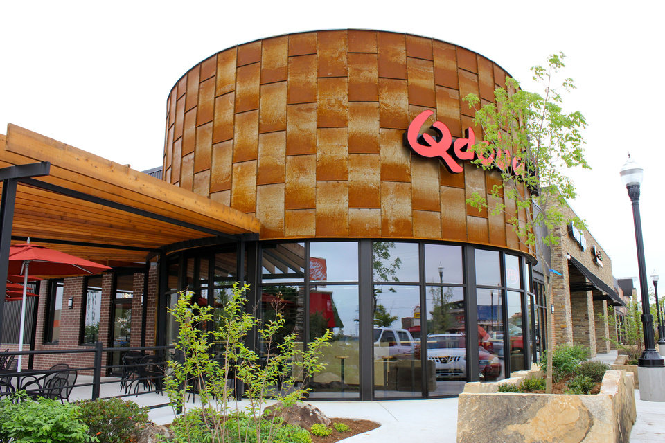 Photo - A Qdoba restaurant in the Fritts Farm retail development in Moore.   - PROVIDED BY DIRECT DEVELOPMENT