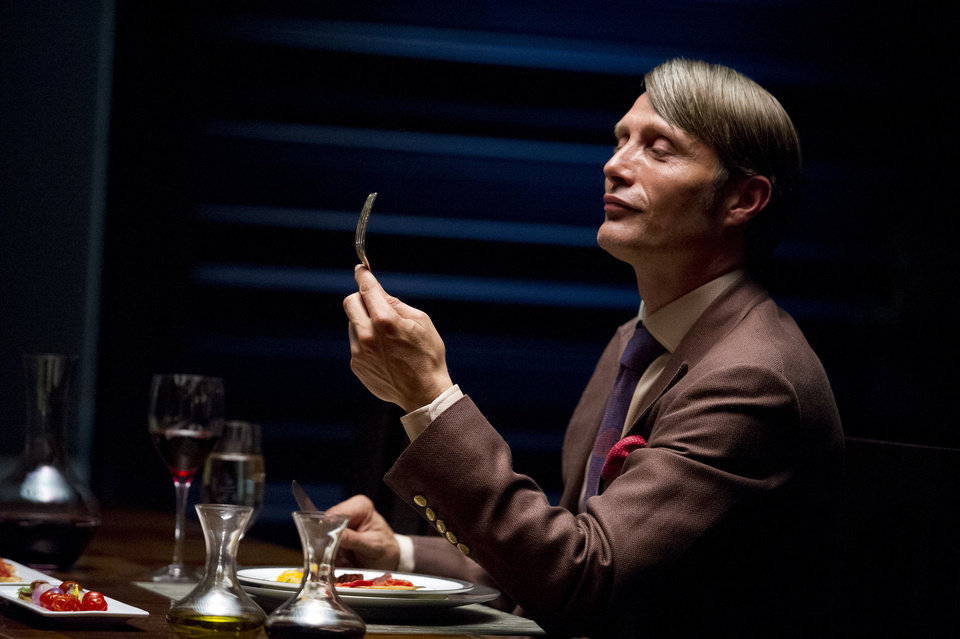 "Photo - Mads Mikkelson plays Dr. Hannibal Lecter in ""Hannibal."" NBC Photo"