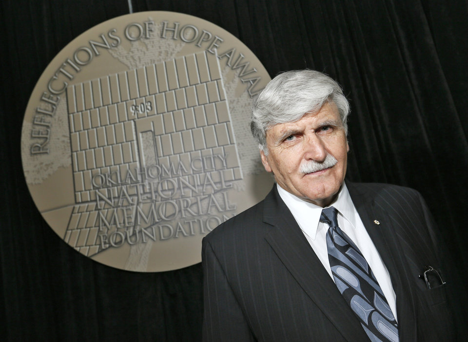 Photo -      Romeo Dallaire, 2014 Reflections of Hope Award honoree, poses for a photo at the National Cowboy & Western Heritage Museum in Oklahoma City, on Monday. Photo by Nate Billings, The Oklahoman   NATE BILLINGS -  NATE BILLINGS