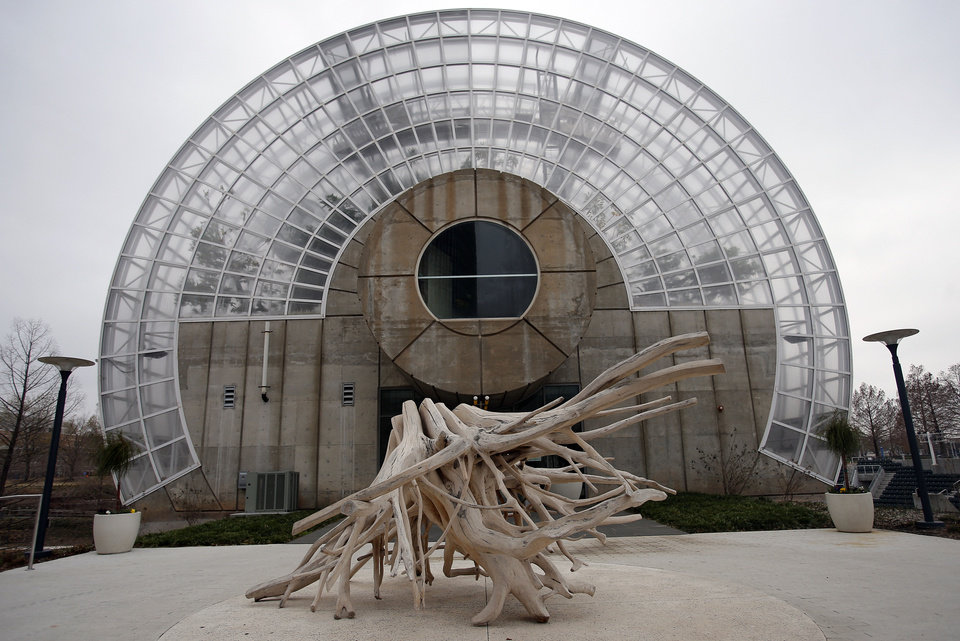 The Myriad Botanical Gardens is pictured in Oklahoma City, Thursday, March 21, 2013. Photo by Sarah Phipps, The Oklahoman