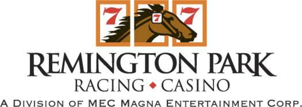 Photo - REMINGTON PARK LOGO / REMINGTON PARK RACETRACK / HORSE RACING / CASINO / GRAPHIC  ORG XMIT: 0905291828391692