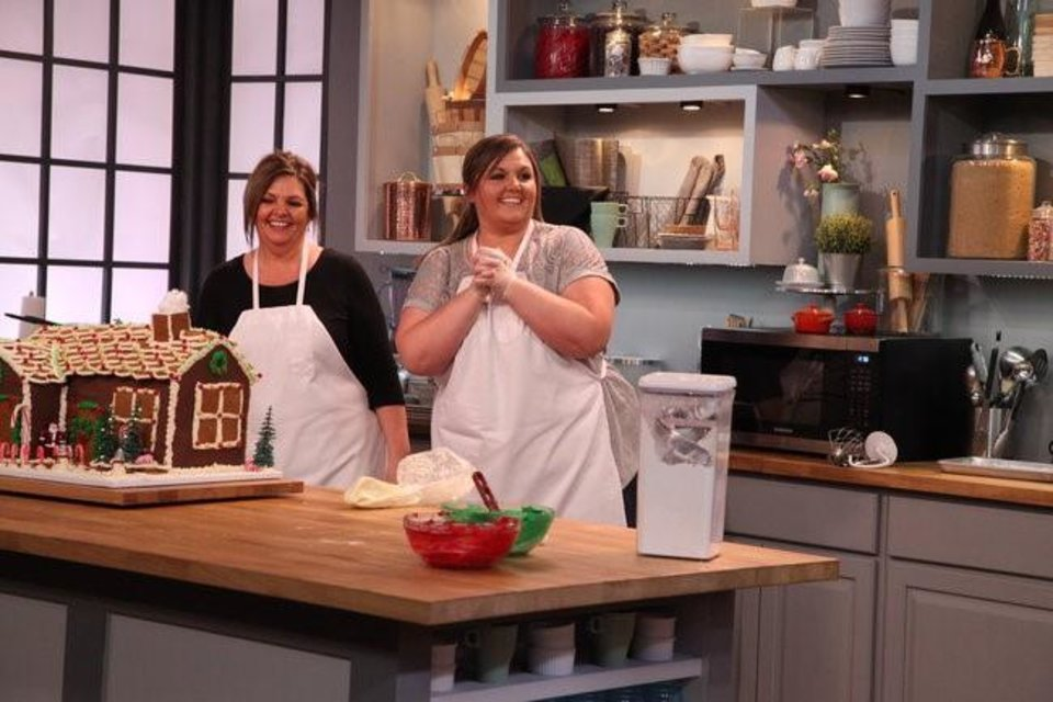 Photo -  Local bakers Jennifer and Brenda Havenar appeared on Discovery Family's