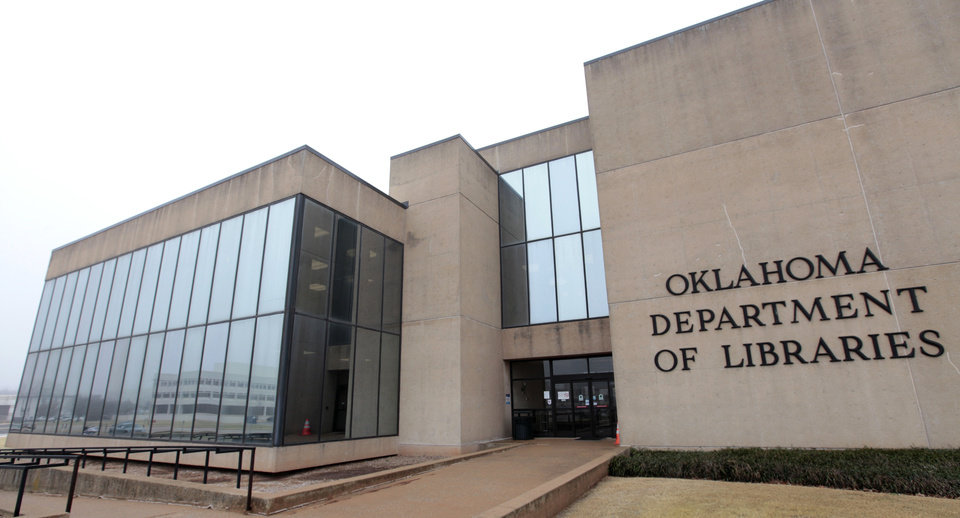 Photo - The Department of Libraries houses the Oklahoma State Archives. Photo by David McDaniel, The Oklahoman