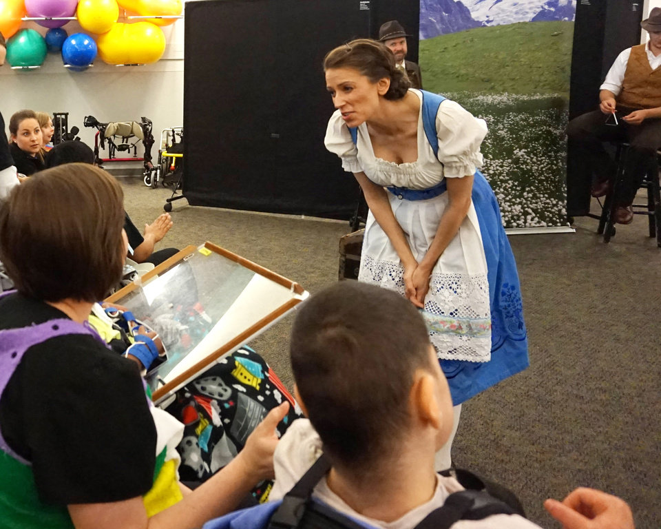 Oklahoma City's Lyric Theatre performs for patients at ...
