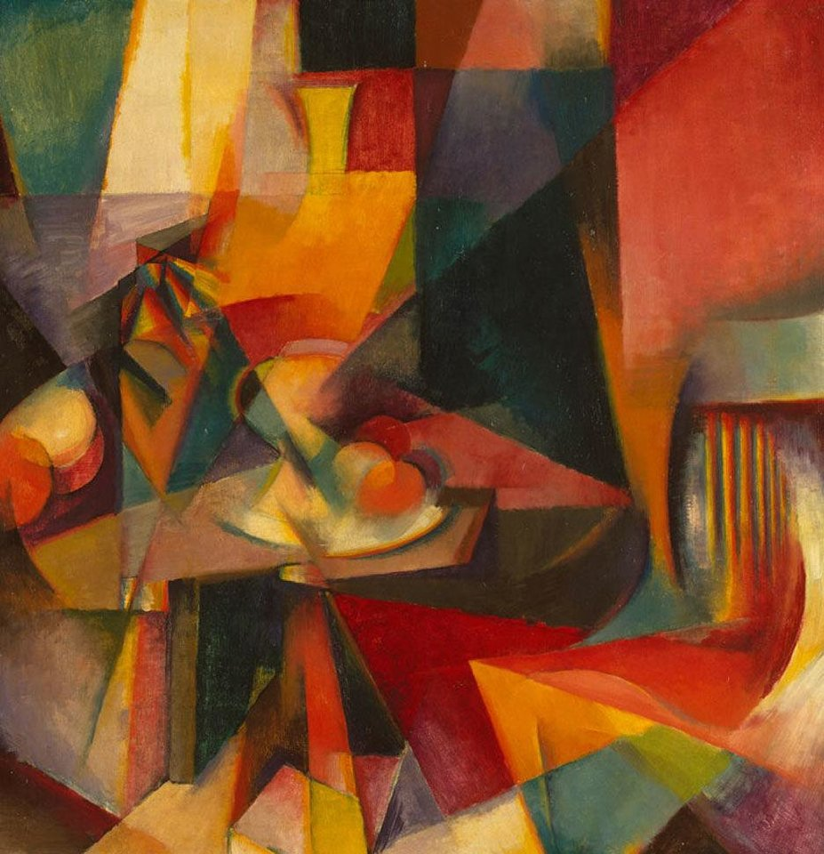 """Synchromy No. 3,"" a 1917 work by Stanton Macdonald-Wright.   Photo provided <strong>Photo provided</strong>"