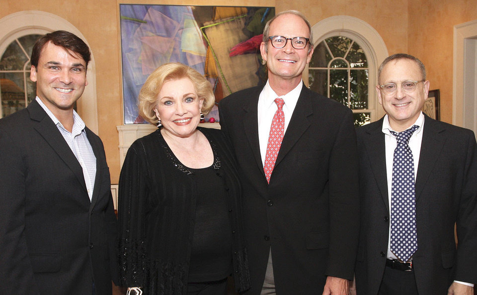 Photo - Robert Mills, Ann Alspaugh, Rex Urice, John Krasno. Photo by David Faytinger