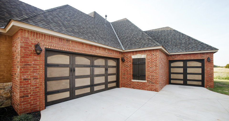 Sun Custom Homes built this house at 9032 NW 147 Terrace. <strong>PAUL B. SOUTHERLAND - The Oklahoman</strong>