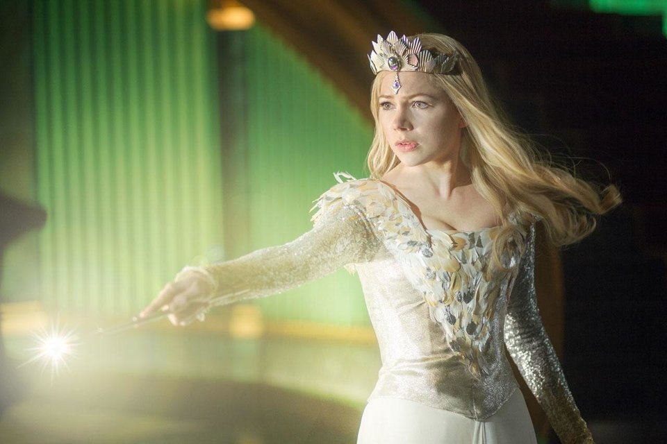 "Michelle Williams plays Glinda in ""Oz the Great and Powerful."" Walt Disney Pictures photo <strong></strong>"