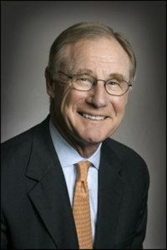 Photo - OSU: V. Burns Hargis, Oklahoma State University president