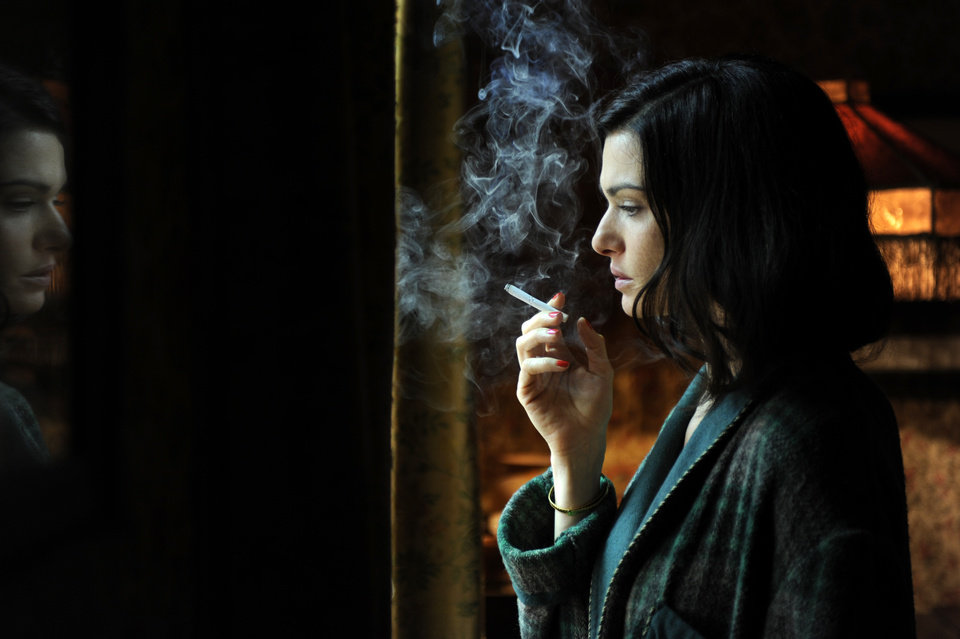 "In this film image released by Music Box Films, Rachel Weisz portrays Hester Collyer in a scene from ""The Deep Blue Sea.""  Weisz was nominated Thursday, Dec. 13, 2012 for a Golden Globe for best actress in a drama for her role in the film.  The 70th annual Golden Globe Awards will be held on Jan. 13.  (AP Photo/Music Box Films)"