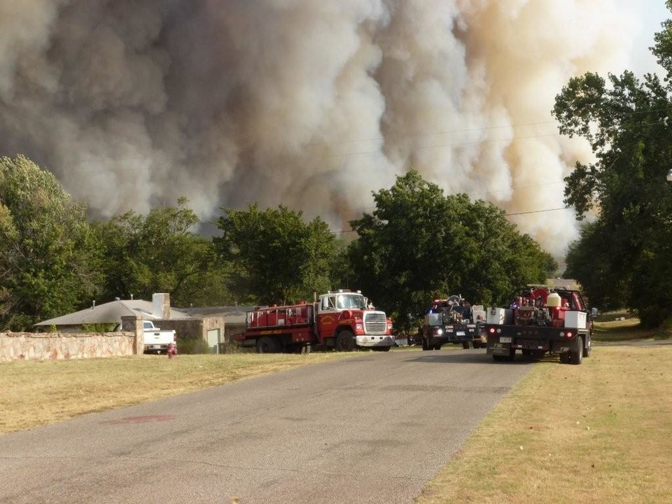 Luther Wildfire Aug 3, 2012