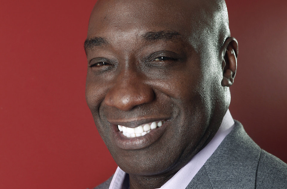 Photo -   This Wednesday, Jan. 11, 2012 photo shows actor Michael Clarke Duncan in New York. Duncan has died at the age of 54, his fiancee said on Monday, Sept. 3, 2012. (AP Photo/Carlo Allegri)