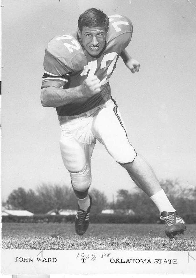 John Henry Ward, former OSU wrestling and football All-American. PHOTO PROVIDED BY OSU SPORTS INFORMATION